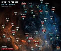 Space Debris Map Heleus Cluster Map Mass Effect Andromeda Game Maps Com
