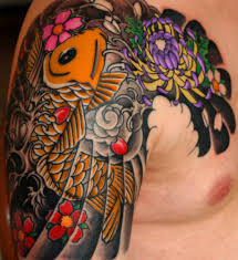 japanese tattoo designs koi tattoo love