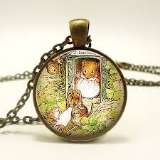 s day pendants mouse beatrix potter pendant s day gift housewarming gift