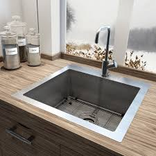 corner kitchen sinks botb corner kraus khu30145 corner kitchen