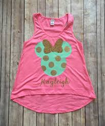 Minnie Mouse Clothes For Toddlers Minnie Mouse Girls Disney Tank Top Minnie Mouse Tank Top Minnie