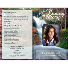 template for funeral program free memorial templates funeral memorial program templates free