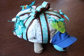It U0027s Mombojumbo How To Make A Turtle Shaped Diaper Cake