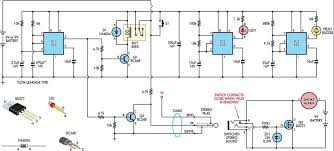 temporarily silencing a smoke detector circuit diagram