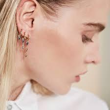 ear earrings the rise of ear piercings