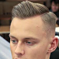 high hairline sideshade men which side should i part my hair men s hairstyles haircuts 2018
