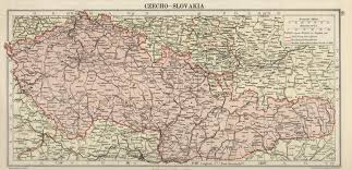 Slovakia Map Hipkiss U0027 Scans Of Old Maps