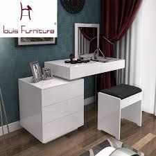 Bedroom Dressers White Fashion White Paint Small Apartment Telescopic Minimalist Modern