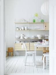 Kitchen Wall Shelving Units 59 Best String Images On Pinterest String Shelf String System