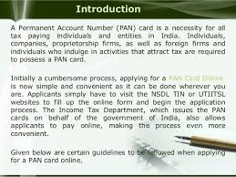 pan card online know how to apply for pan card online