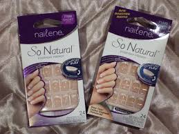 Best Stick On Nails Australian Beauty Review Nailene So Natural French Nails Review