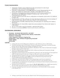 Sap Project Manager Resume Sample Sample Resume For Food Counter Attendant Cheap Admission Paper