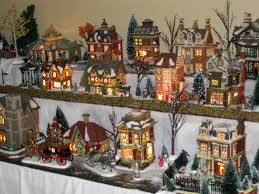 christmas village house 56 dickens houses arranged