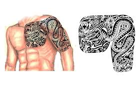 scythian chest arm sleeve tattoo picture scythian chest arm