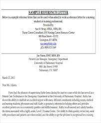 reference letter for student nurse sample compudocs us