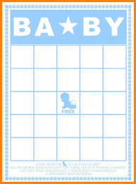 8 baby bingo template care giver resume