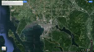 Satellite Map Of Washington State by Bellingham Washington Map