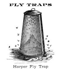 vintage clip art fly trap the graphics fairy