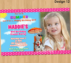 frozen birthday party invite free printable invitation design