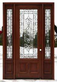 Solid Exterior Doors Exterior Doors Lowes Single Wooden Door Designs Solid Wood Slab