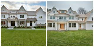 two 3 million newly built colonial shingle homes in westport ct