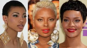 black women low cut hair styles haircuts black women top short hairstyles for black women youtube