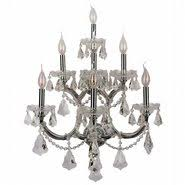 Crystal Candle Sconce Wall Sconces