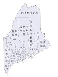 Maine Mall Map Maine Counties Map Tablesportsdirect