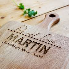 personalised cutting board personalised chopping board by knead home notonthehighstreet