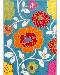 check out these deals on well woven bright flowers blue