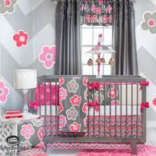 Baby Unique Gray Modern Flower Quilt Crib Nursery