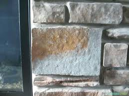 painting cast stone fireplace mantel beautiful painted rock before