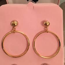 hepburn earrings 44 camrose and jewelry hepburn hoop earring
