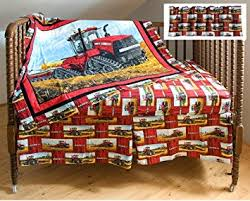 Tractor Crib Bedding Caseih 500t Tractor Crib Bedding Set Baby