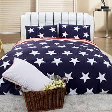 Stars Duvet Cover Navy Blue White And Red American Flag The Star And The Stripes