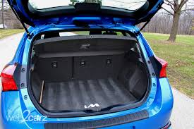trunk space toyota corolla 2016 scion im review web2carz