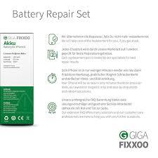 giga fixxoo iphone 6 battery replacement kit complete amazon co