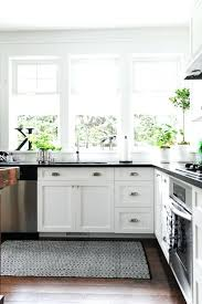 Black Kitchen Rugs Black And White Kitchen Rug Snaphaven