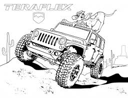 jeep owner useful image collection of jeep coloring pages proper with regard