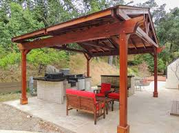 Outdoor Kitchen Pavilion Designs by Outdoor Kitchen Pavilion Redwood Pavilion Kit For Kitchens