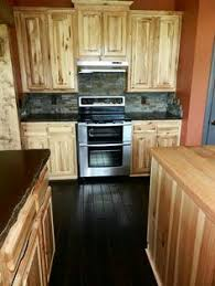 Rustic Hickory Kitchen Cabinets Knotty Hickory Kitchen Cabinets 4 844 Knotty Hickory Cabinets