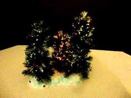 lemax fiber optics musical twinkling white tipped spruce tree