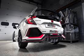 honda civic type r 2018 milltek buys 2018 honda civic type r makes killer exhaust