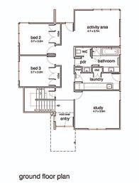 Modern Contemporary Floor Plans by Modern Style House Plan 3 Beds 2 Baths 2554 Sq Ft Plan 496 20