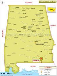 Geneva Illinois Map by Where Is Geneva Located In Alabama Usa