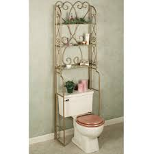 Bathroom Space Savers by Luxury Bathroom Space Savers Over Toilet With Venetian Gold Powder