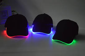 hats with lights built in fashionable led baseball cap dhl attractive led lighting baseball