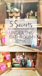 best 25 bathroom sink organization ideas on pinterest under