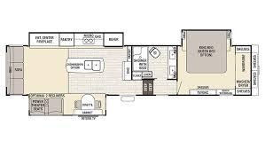Forest River 5th Wheel Floor Plans 2017 Forest River Cedar Creek Champagne 38el Model