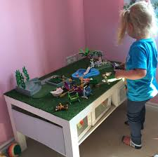 ikea lack coffee table u0027hack u0027 for little lady u0027s playmobil